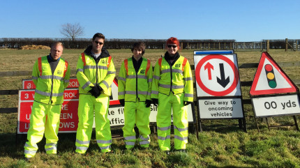 Hi-Viz and Sunshine - A Great Combination!